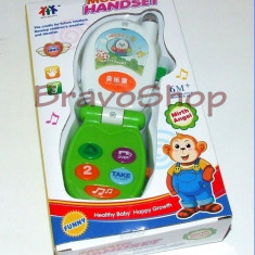 Telefon de jucarie Bebe Phone - pentru bebelusi vorbareti!