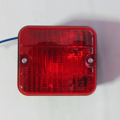 Lampa CEATA RULOTA REMORCA TIR BEC 12V-24V ROSIE AL-TCT-1837
