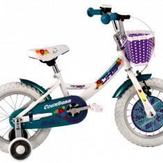 Bicicleta Copii DHS 1402 (2016) Culoare Alb