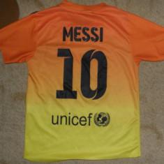 Tricou Barcelona - Messi, marime de copii, 128, lungime 45 cm, latime 37 - Tricou echipa fotbal, Marime: XS, Culoare: Din imagine
