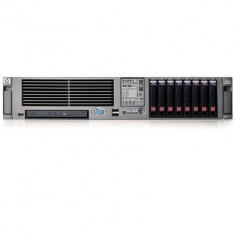 Server Refurbished HP ProLiant DL380 G5 2U, 2x Intel Xeon E5440, 32GB Ram DDR2, 4x 146GB SAS, CDROM, RAID, 2 surse redundante de 8 - Server HP