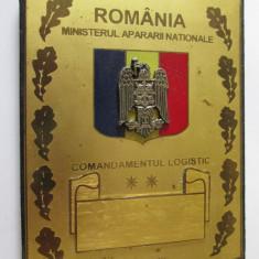 Placheta Comandamentul Logistic Ministerul Apararii Nationale