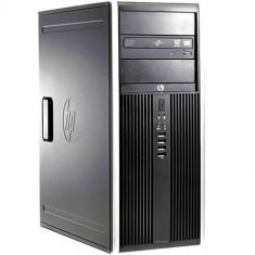 Calculator Refurbished HP 8000 Elite Tower, Intel Core2Quad Q9550, 4GB Ram DDR3, Hard Disk 250GB, S-ATA, DVDRW, Windows 10 Pro Refurbished Preinstal - Sisteme desktop fara monitor