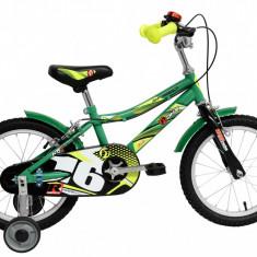 Bicicleta Copii DHS Speed 1603 (2016) Culoare Verde