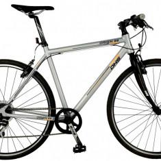 Bicicleta DHS Origin 2895 Culoare Negru – 530mm - Bicicleta de oras DHS, 13 inch, Otel