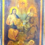 Icoana pe lemn greceasca, Sec. XIX - Pictor roman