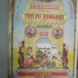 Calendarul pentru toti fii Romaniei, anul 1906 - Carte veche