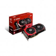 Placa video MSI Radeon RX 480 GAMING X 8G, PCI Express x16 3.0, GDDR5, DisplayPort x 2 (version 1.4 Ready) / HDx 2 (version 2.0b)/DL-DVI-D, bulk - Placa video PC Msi, Ati