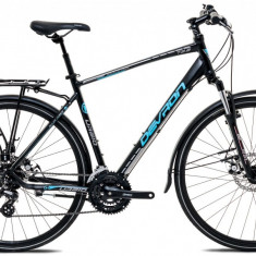 """Bicicleta Devron Urbio T2.8 M – 495/19.5"""", Acid Black - Bicicleta de oras"""