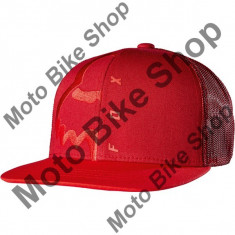 FOX KINDER KAPPE SNAPBACK EYECON BOX, cranberry, One Size, 17/039, - Sapca Copii