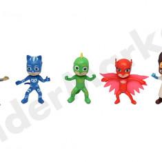 Eroi in Pijamale - set 5 figurine de colectie - Figurina Desene animate