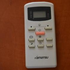 Telecomanda aer conditionat YAMATSU, ORIGINALA, IMPECABILA ( AC ) !!!