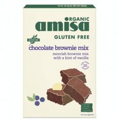 Mix pentru prajitura brownie fara gluten bio 400g - Bufet