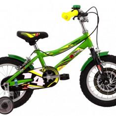 Bicicleta Copii DHS Speed 1403 (2016) Culoare Verde