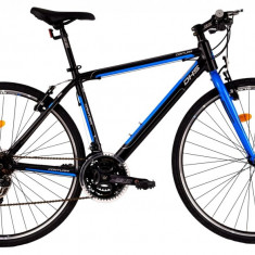 Bicicleta DHS Contura 2863 (2016) Culoare Negru 530mm - Bicicleta Cross, 21 inch