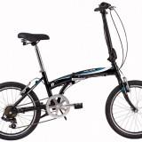 Bicicleta Pliabila DHS Folding 2095 (2017) Negru-Albastru