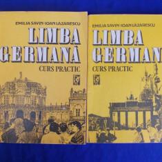 EMILIA SAVIN - LIMBA GERMANA * CURS PRACTIC [ VOL.1 + VOL.2 ] - 1992 - Curs Limba Germana