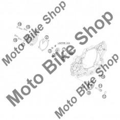 Semering 10X24X5, 5 pompa apa KTM 400 EXC Europe 2009 #5, - Simering pompa apa Moto