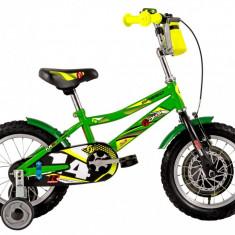 Bicicleta Copii DHS Speed 1401 (2016) Culoare Verde