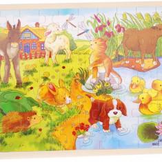 Puzzle din lemn cu diferite imagini - 7 modele disponibile