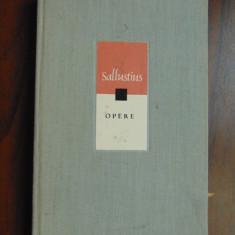 Opere - Sallustius (1969) - Istorie