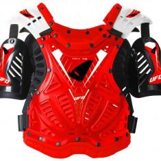 Protectii corp (carapace) Ufo, Shield One, rosu/negru - Protectii moto