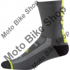 FOX MTB SOCKEN LOGO TRAIL 8, graphite-yellow, L-XL, 17/160, - Sosete barbati