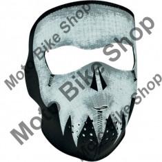 Cagula fosforescenta SKULL Face, ZAN HEADGEAR, - Cagula moto