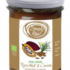 Crema raw cu alune tigrate si cacao bio 170g