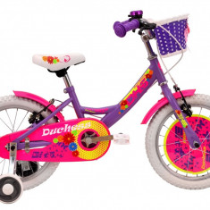 Bicicleta Copii DHS Duchess 1604 (2016) Culoare Violet, 9 inch