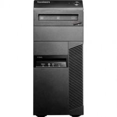 Calculator Refurbished Lenovo ThinkCentre M81p Tower, Intel Dual Core G620 2600Mhz, 4GB Ram DDR3, Hard Disk 250GB, S-ATA, DVDRW, port Serial
