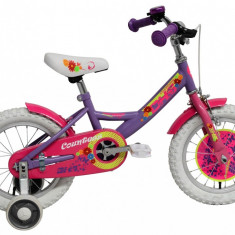 Bicicleta Copii DHS 1402 (2016) Culoare Violet