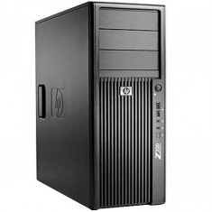Workstation Refurbished HP Z200 Tower, Intel Core i7-860, Intel® Turbo Boost Technology, 4GB Ram DDR3, Hard Disk 250GB, DVDRW, placa video Ati Radeo