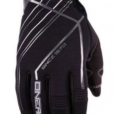 Manusi iarna O'Neal negru/gri impermeabile negre marime XL -10 - Echipament Ciclism