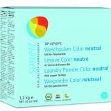 Detergent ecologic praf pt. rufe colorate, neutru 1.2 kg Sonett