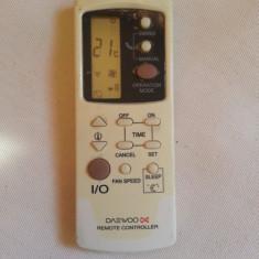 Telecomanda aer conditionat DAEWOO  , ORIGINALA, IMPECABILA ( AC ) !!!