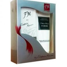 Set cadou dama FM 18 - Parfum femeie Federico Mahora, Apa de parfum, 50 ml