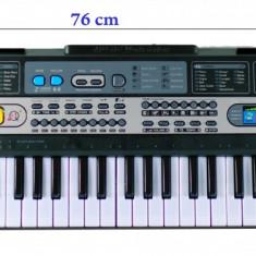 Orga de jucarie cu 5 octave, 61 clape si microfon pentru copii - MQ6117 - Instrumente muzicale copii