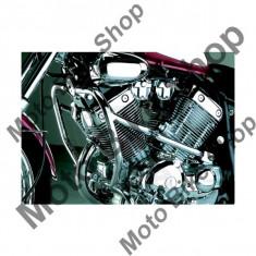 Protectie motor/carena fata 2 piese, crom, - Carene moto