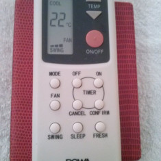 Telecomanda aer conditionat ROWA, ORIGINALA, IMPECABILA ( AC ) !!!