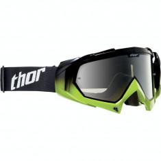 Ochelari cross Thor Hero culoare negru/verde - Ochelari moto