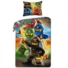 Lenjerie De Pat Lego Ninjago - Lenjerie pat copii