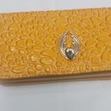 Portofel dama galben