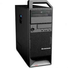 Workstation Refurbished Lenovo ThinkStation S20 Tower, Intel Core i7-930 / Intel Xeon W3530, 8GB Ram DDR3, Hard Disk 250GB S-ATA, DVDRW, eSATA, plac - Sisteme desktop fara monitor
