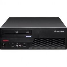 Calculator Refurbished Lenovo M58 SFF, Intel Dual Core E5800 3200Mhz, 4GB Ram DDR3, Hard Disk 160GB, S-ATA, DVDRW, Serial, Display - Sisteme desktop fara monitor