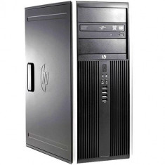 Calculator Refurbished HP 8000 Elite Tower, Intel Core2Quad Q9550, 4GB Ram DDR3, Hard Disk 250GB, S-ATA, DVDRW, Windows 7 Home Refurbished Preinstal - Sisteme desktop fara monitor