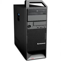 Workstation Refurbished Lenovo ThinkStation S20 Tower, Intel Core i7-930 / Intel Xeon W3530, 8GB Ram DDR3, Hard Disk 250GB S-ATA, DVDRW, placa video - Sisteme desktop fara monitor Lenovo, Windows 10