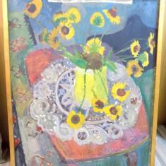 Aurel Vlad, Vas cu flori - Pictor roman