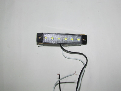 Lampa laterala Gabarit Remorca TIR 6 LED-uri 12v ALBA SET 2 Buc AL-TCT-2897 foto