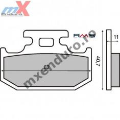 Placute frana spate kevlar Kawasaki/Suzuki/Yamaha - Placute frana spate Moto